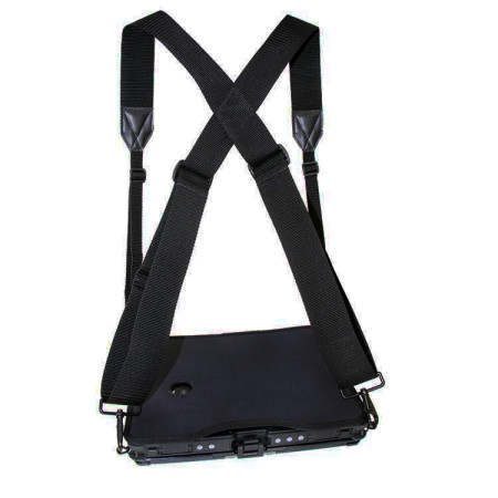 Rugged Chest Mount Laptop Harness