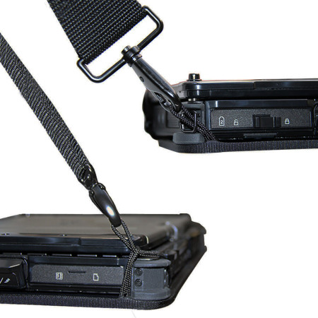 Rugged Chest Mount Laptop Harness Features