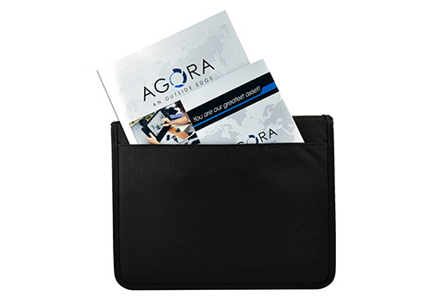 Zipper Demo Sales Case External Document Pocket
